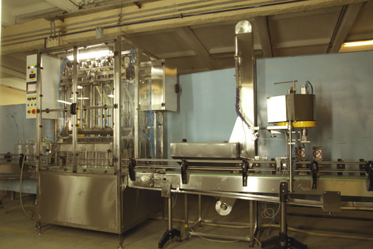 Линия розлива питьевой воды в ПЭТ бутылки 1000 – 2000