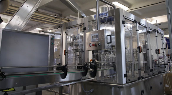 Триблок ополаскивание-розлив-укупорка МФ-3-20-20-4 (производство Машины и Технологии)
