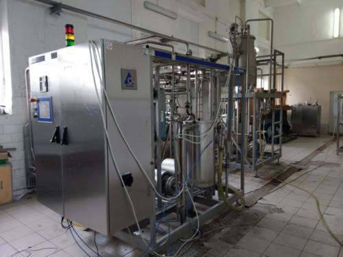 UHT milk sterilizer Tetra Term aseptic Flex