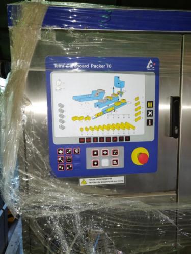 Filling line Tetra Pak TBA/19- 125 Slim 2008 year of production